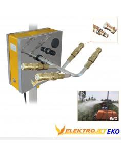 Kadıoğlu Elektrojet - 2 Yön 4 Çıkış Zeytin - Meyve Modeli Pulverizatörü (Damla Önleyicisiz)