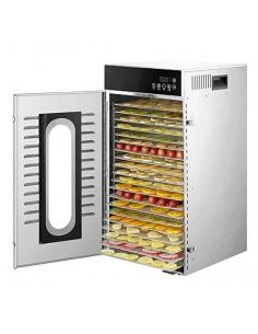 Dalle LT-102 Dijital 20 Tepsili Paslanmaz Çelik Gıda-Meyve Kurutma Makinesi
