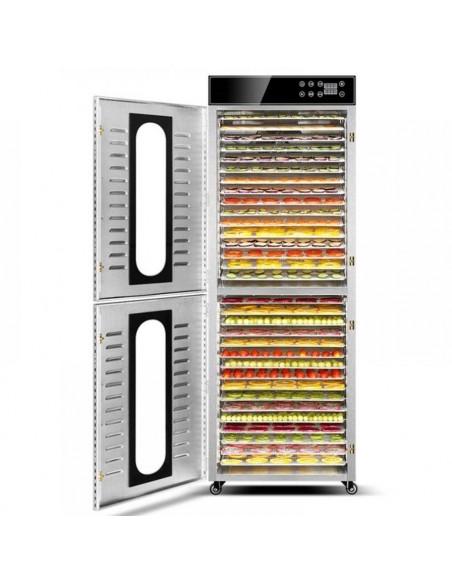 Dalle LT-105 Dijital 32 Tepsili Paslanmaz Çelik Gıda-Meyve Kurutma Makinesi