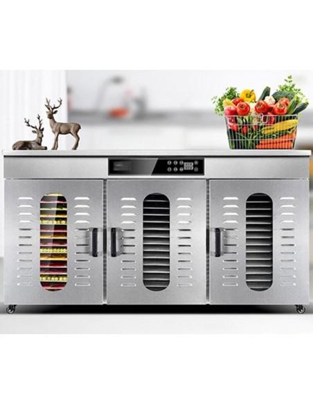 Dalle LT-019 Endüstriyel 48 Tepsili Gıda ve Meyve Kurutma Makinesi