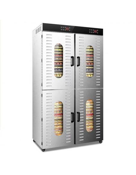 Dalle LT-023 Endüstriyel Paslanmaz Çelik Gıda ve Meyve Kurutma Makinesi 80 Tepsi