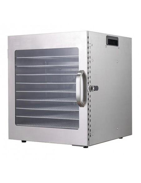 Dalle LT-10 Dijital 10 Tepsili Paslanmaz Çelik Gıda-Meyve Kurutma Makinesi